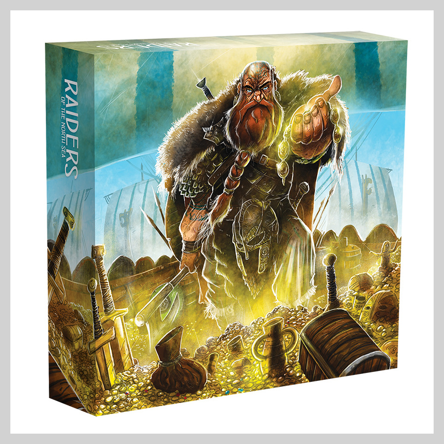 Collector's Box: Raiders of the North Sea + PROMO