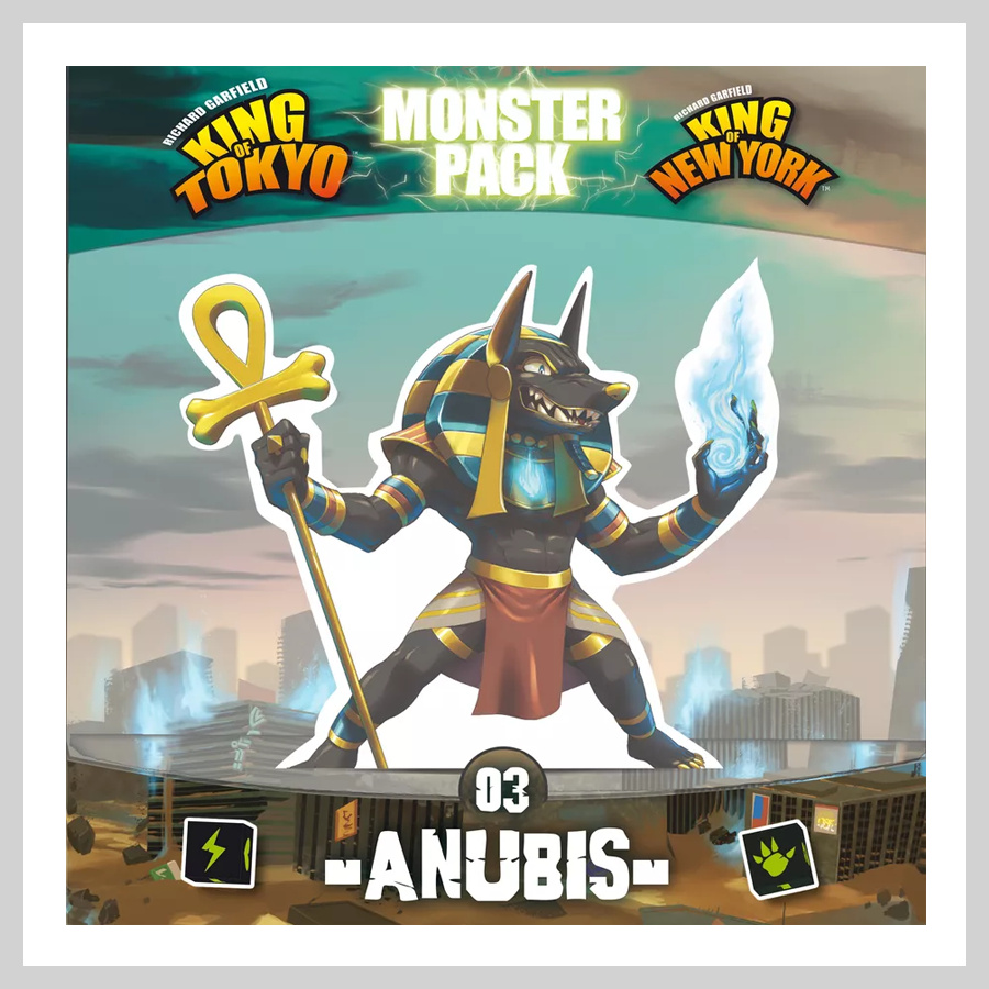 King of Tokyo & King of New York Monster Pack - Anubis