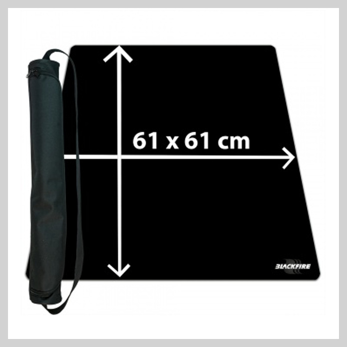 Playmat - Black (61x61)