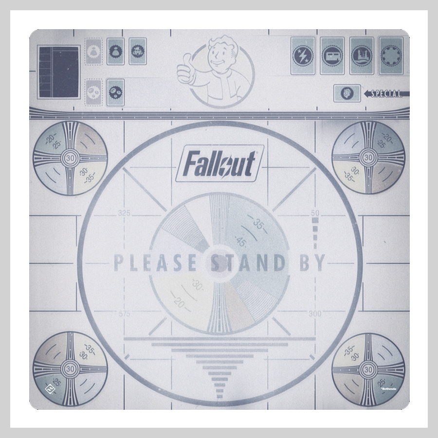 Fallout Please Stand By Playmat