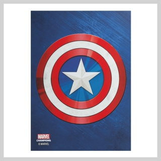 Obaly na karty 63 x 88 mm Captain America (Gamegenic)