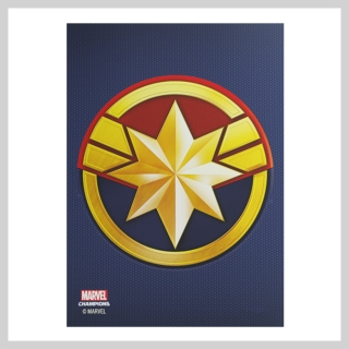Obaly na karty 63 x 88 mm Captain Marvel (Gamegenic)