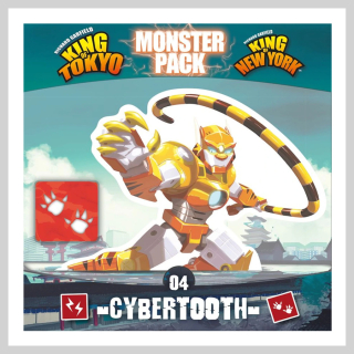 King of Tokyo & King of New York Monster Pack - Cyber tooth