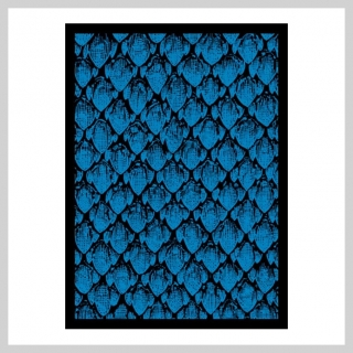 Obaly na karty 63 x 88 mm Dragonhide Blue (Legion)