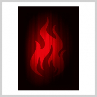 Obaly na karty 63 x 88 mm Super Iconic - Fire (Legion)