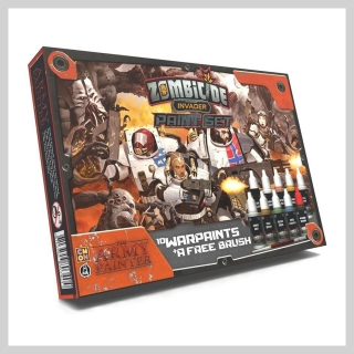 Zombicide: Army Painter Invader Paint Set