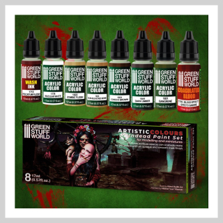 Green Stuff - Undead Paint Set